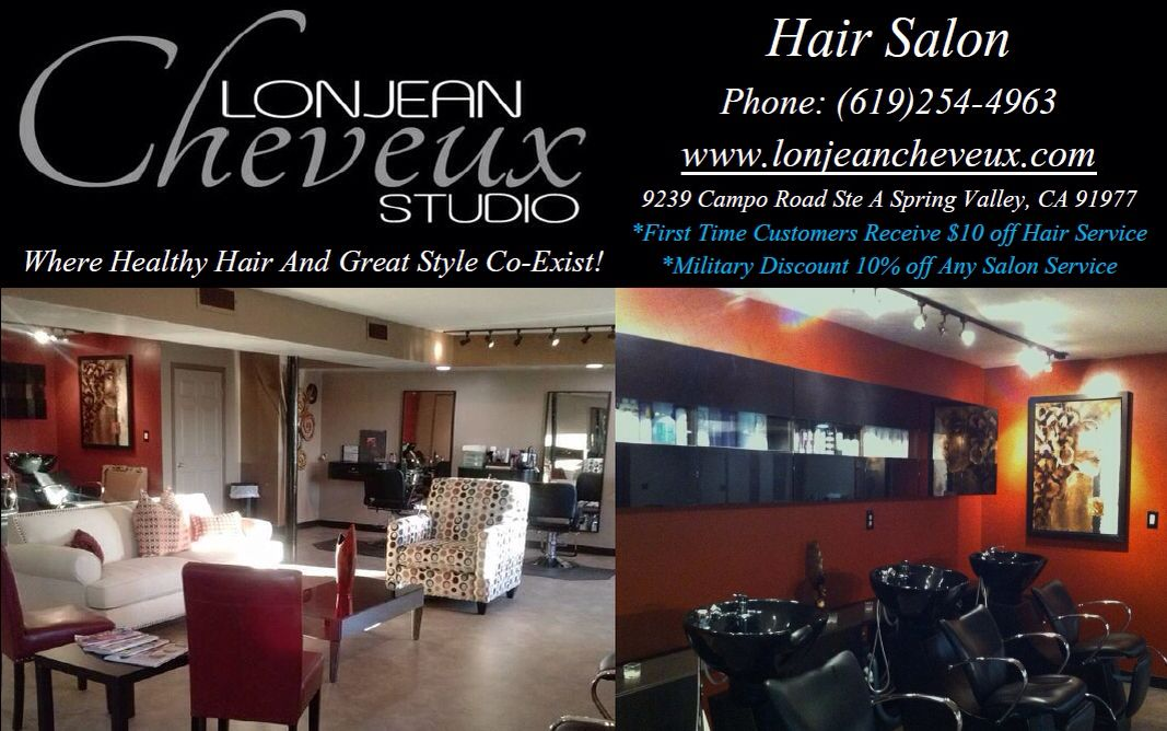 Our staff and management at Lonjean Cheveux Studio are in