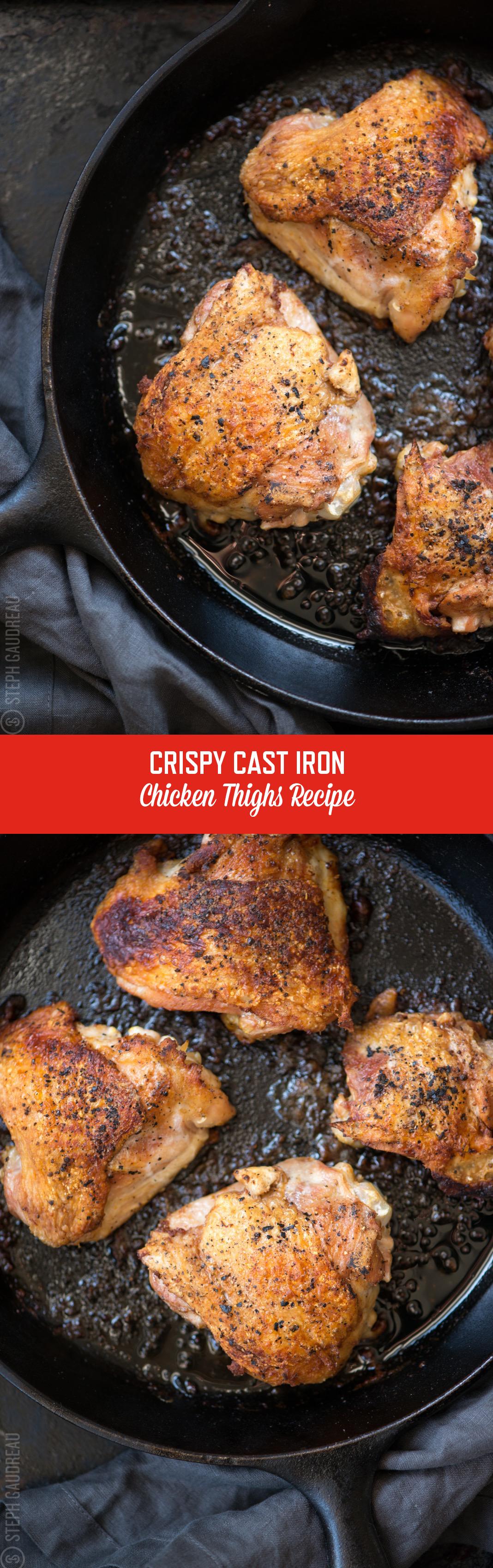 Cast Iron Skillet Chicken Thighs Cast iron skillet