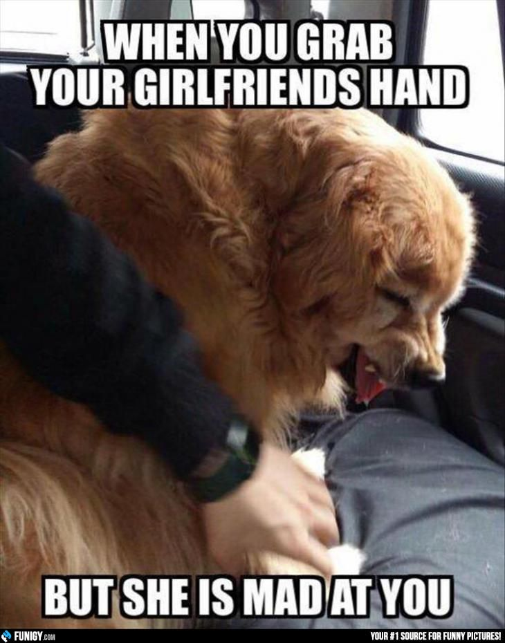 When You Grab Your Girlfriends Hand But She Is Mad At You Funigy Com New Funny Pictures And Hilarious Gi Funny Pictures You Mad Funny Relationship Pictures