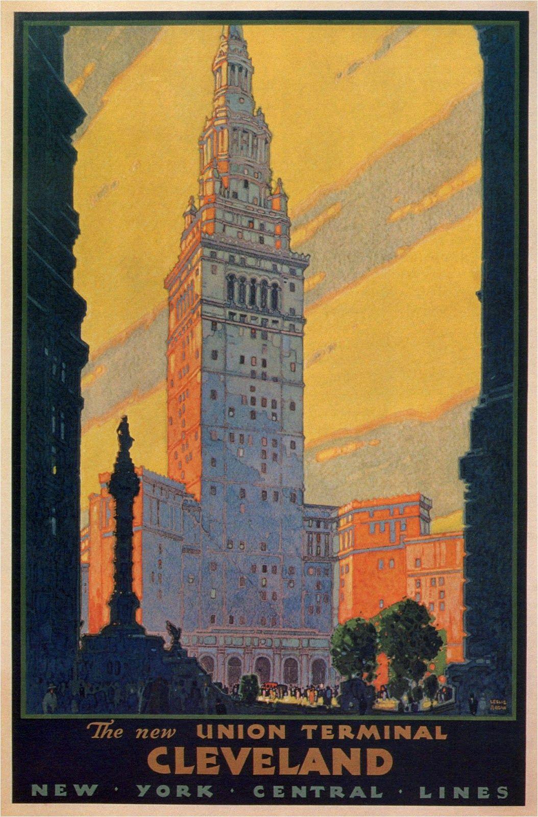 ART & ARTISTS: Vintage Travel Posters - part 2 / Artwork: Leslie ...