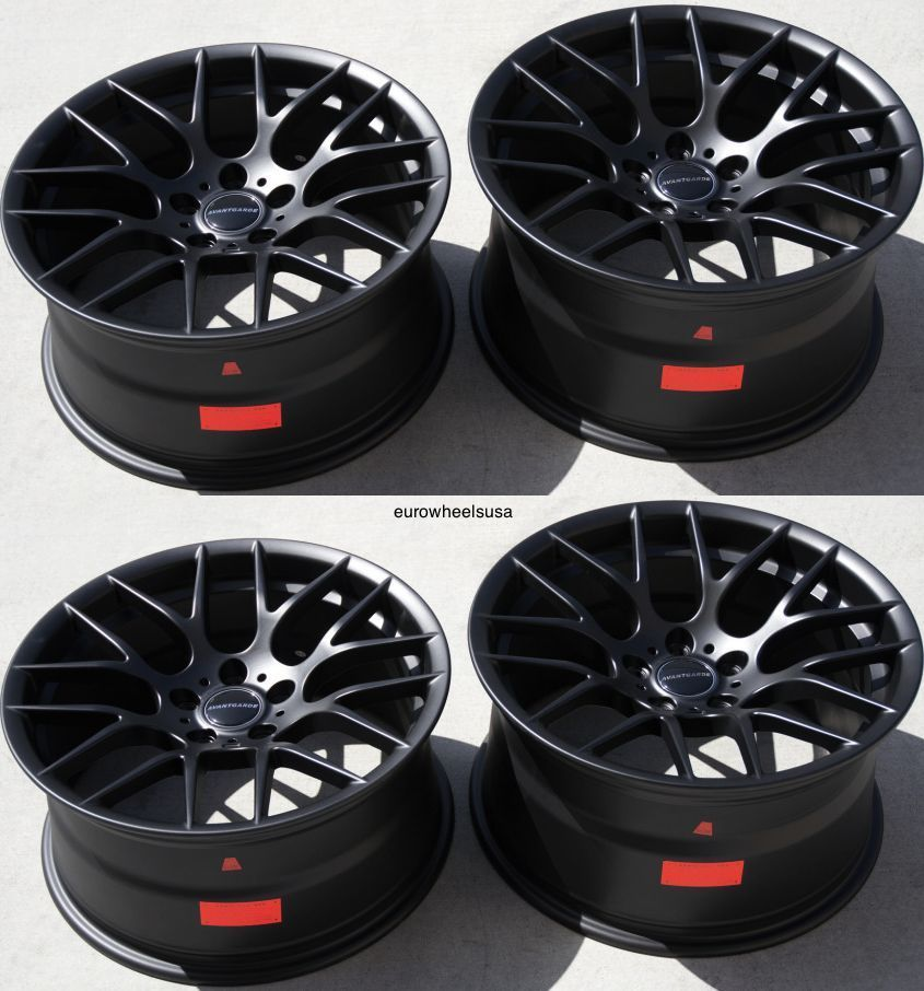 19 Quot Avant Garde M359 Wheels For Bmw E46 M3 Staggered Rims
