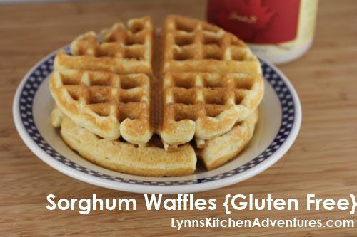 Sorghum Waffles Gluten Free Allergy Free Recipes Gluten Free Eating