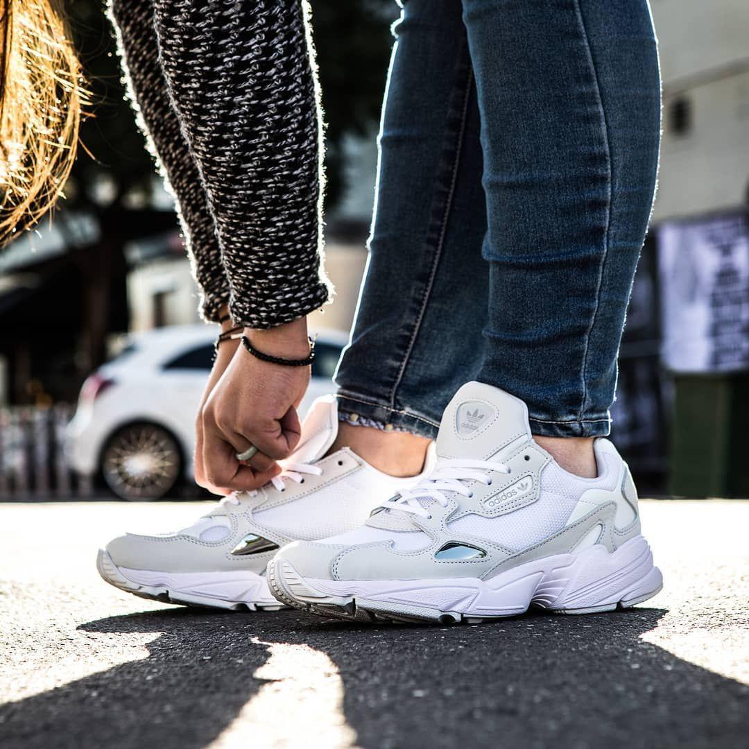 adidas Falcon Shoes - White | adidas Canada | Adidas falcon, Shoes ...