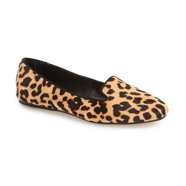 Dolce Vita 'Brannon' Smoking Loafer (225 BGN) ❤ liked on Polyvore  featuring. Leopard Print LoafersLeopard ShoesLeopard ...