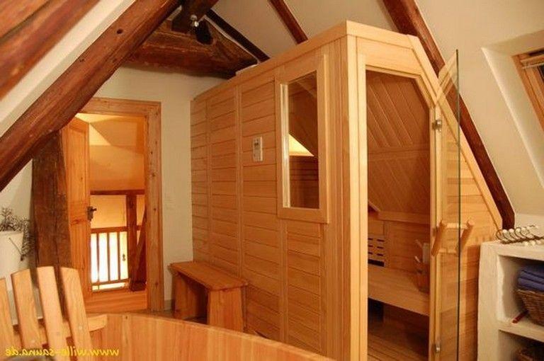 35+ Fabulous Home Sauna Design Ideas   Sauna design Home ...