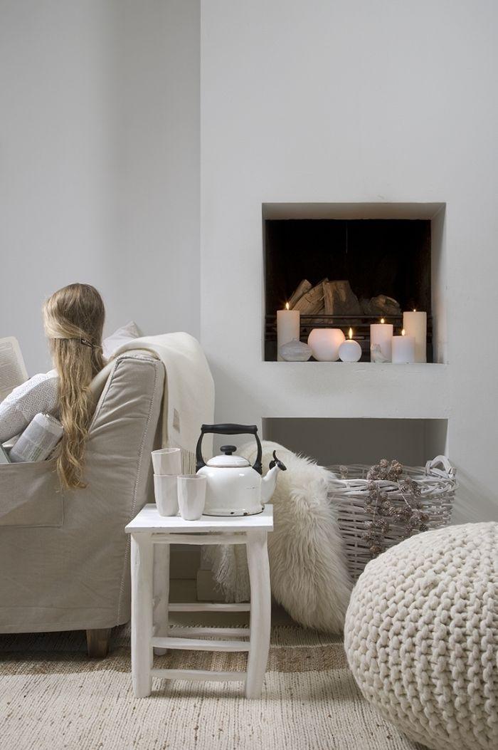 1001 id es d co salon cocooning de style hygge cosy. Black Bedroom Furniture Sets. Home Design Ideas