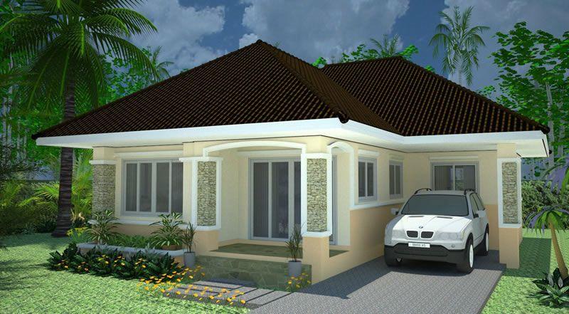 บ านช นเด ยว 3 ห องนอน 2 ห องน ำ B1 House Design House Exterior Dream House Plans