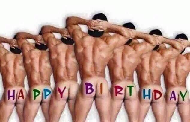 funny happy birthday naked