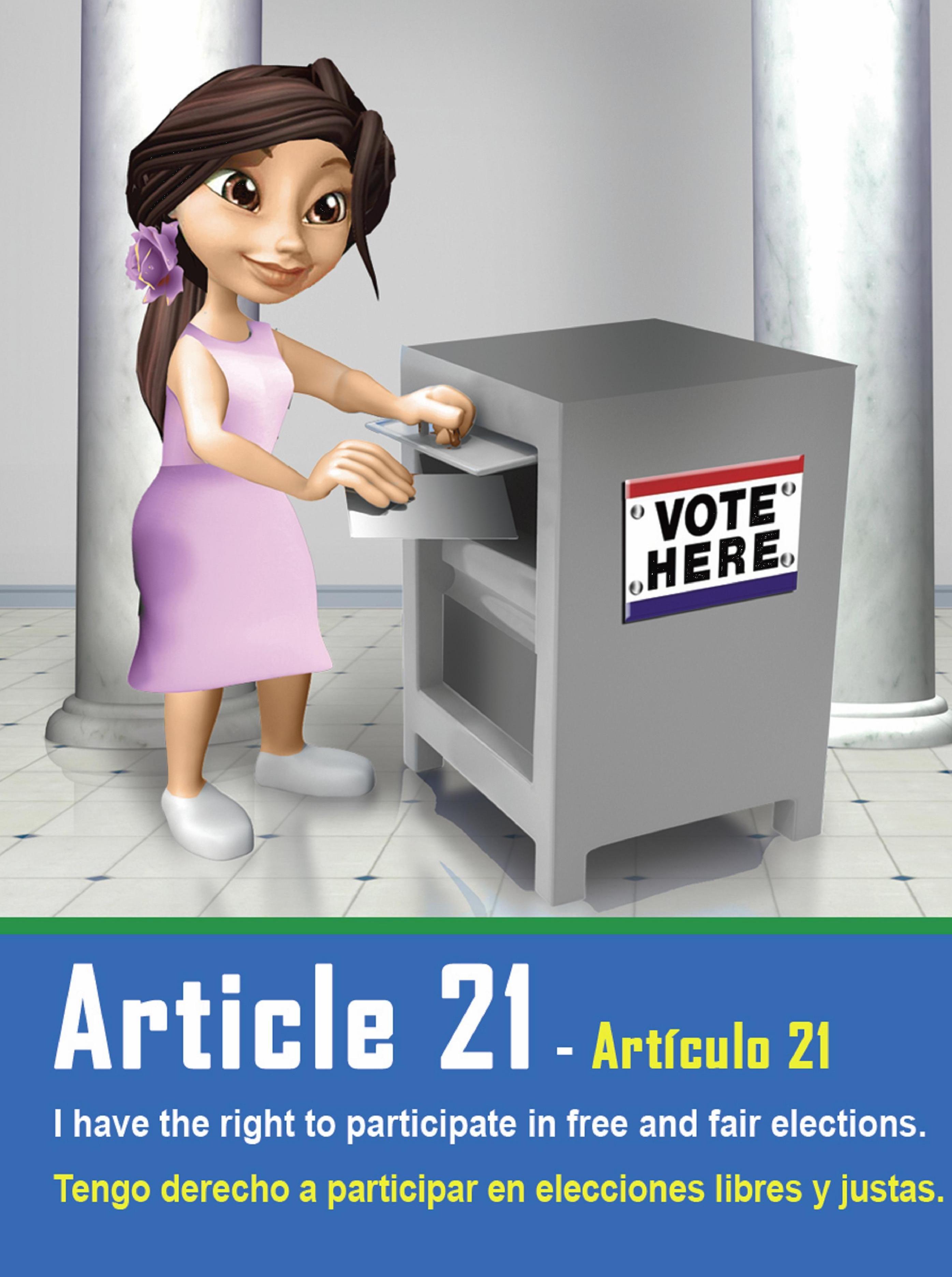 Art 21 Declaration Of Human Rights Human Rights Human