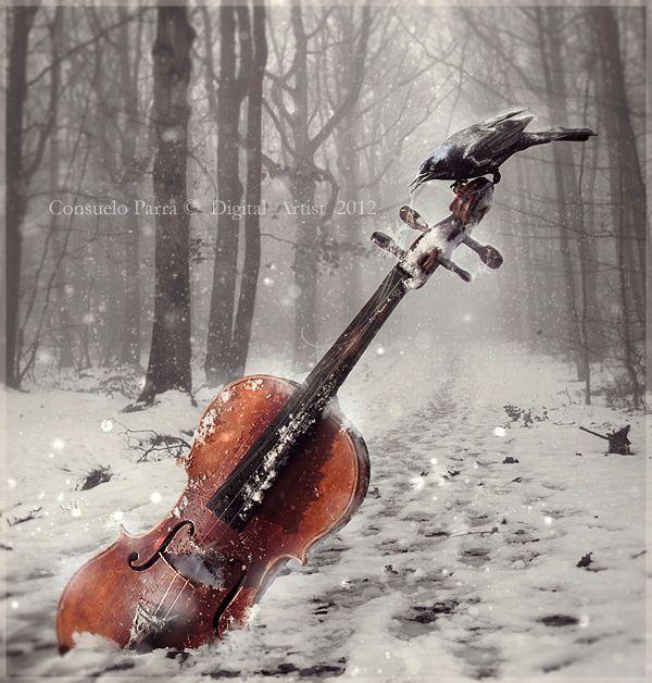 Frozen Melodies by =Senderos-olvidados on deviantART