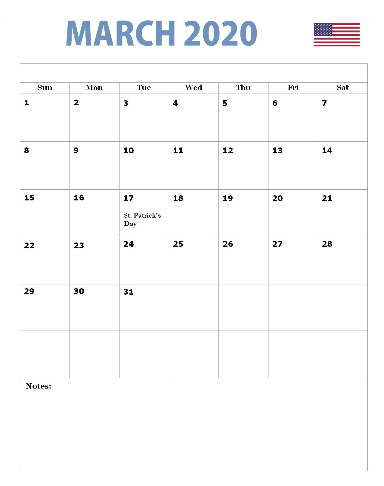March 2020 Holidays Calendar Usa Uk Canada India Australia In