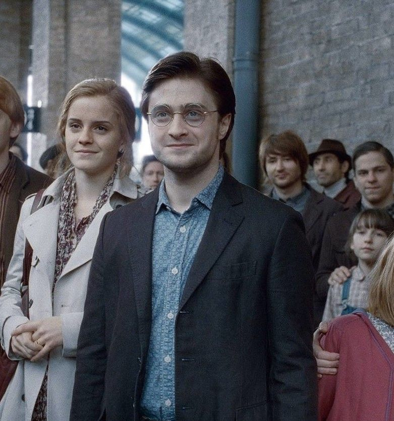 """Harry and Ron both became Aurors and completely changed the department. 