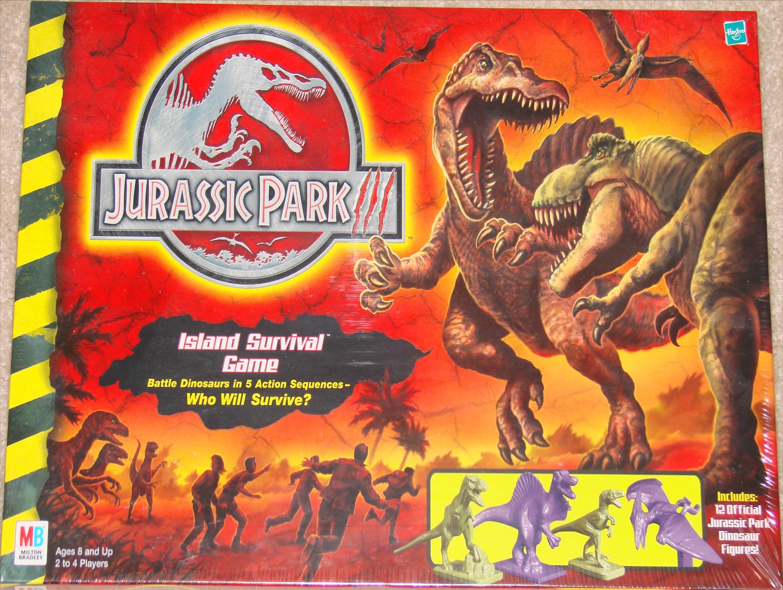 Jurassic Park III Island Survival Game Island survival