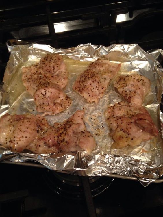 Baked Chicken Recipes Thighs Ovens