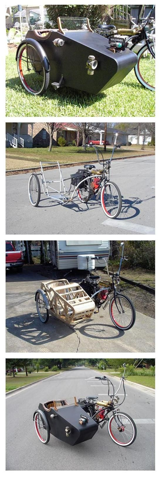 DIY Sidecar bicycle