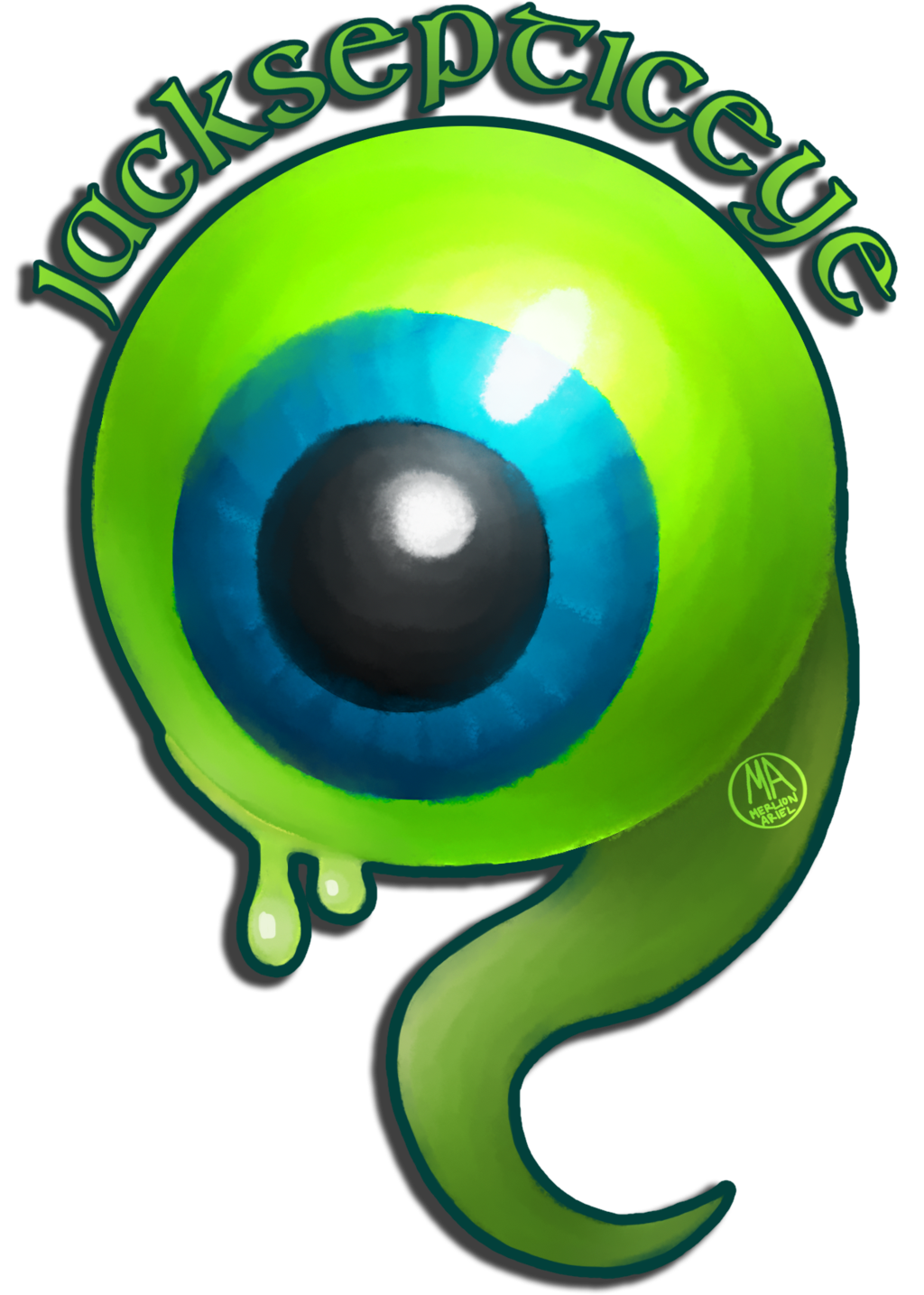Jacksepticeye Jack Septic Eye a Boss Pixel Cushion Cover Tote Bag