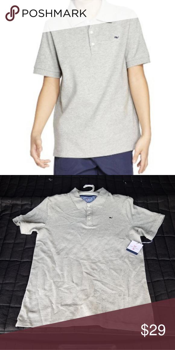 5856a71b2 Vineyard Vines/Target Boys' Gray Polo Shirt Brand new with tags. Vineyard  Vines