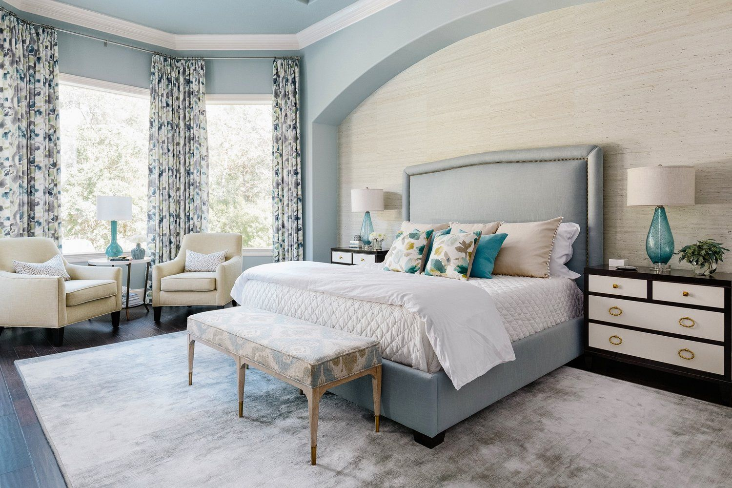 Best Project Reveal A Luxurious Master Bedroom Retreat Blue 400 x 300