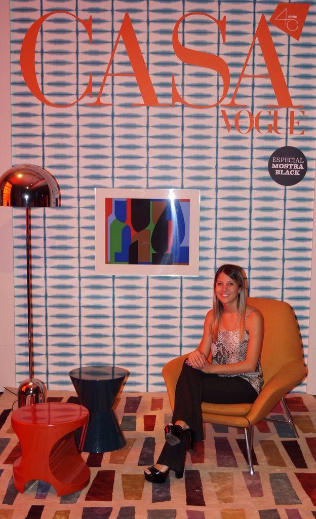Capa da Revista Casa Vogue 2015 Arquiteta Ana Paula Carneiro.