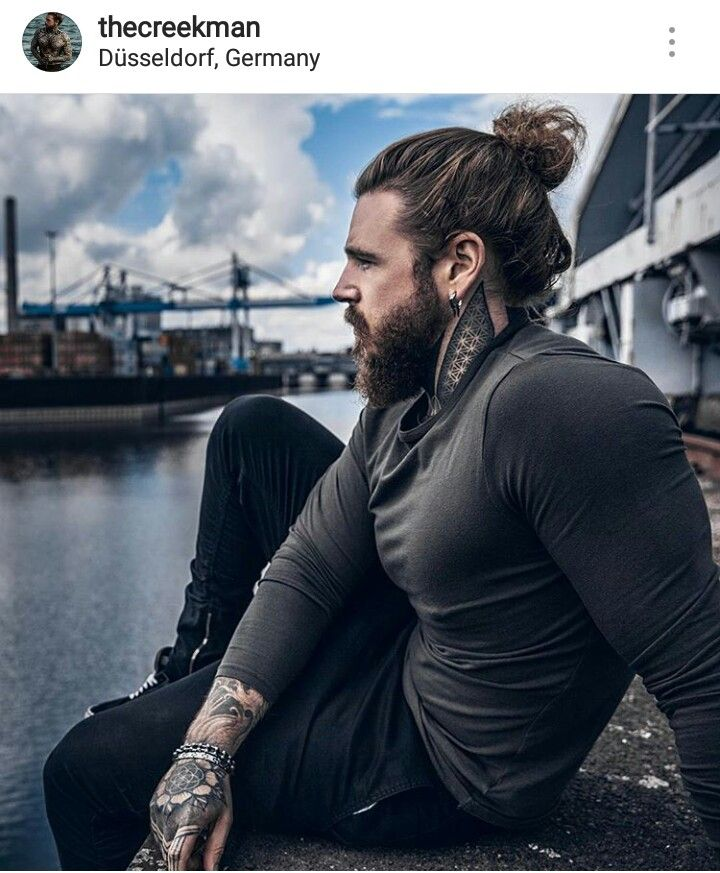 Jason Momoa Ponytail: Pin By Mackenzie Resch On Hairstyles And Beards