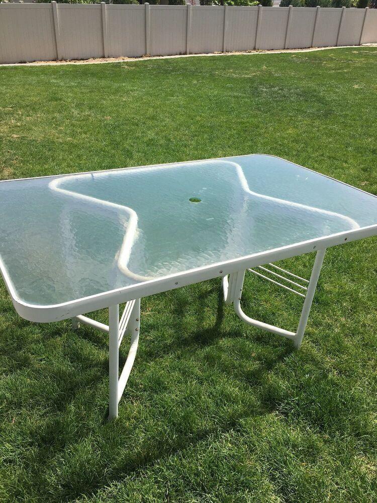 Diy patio glass table makeover idea 1000 glass table