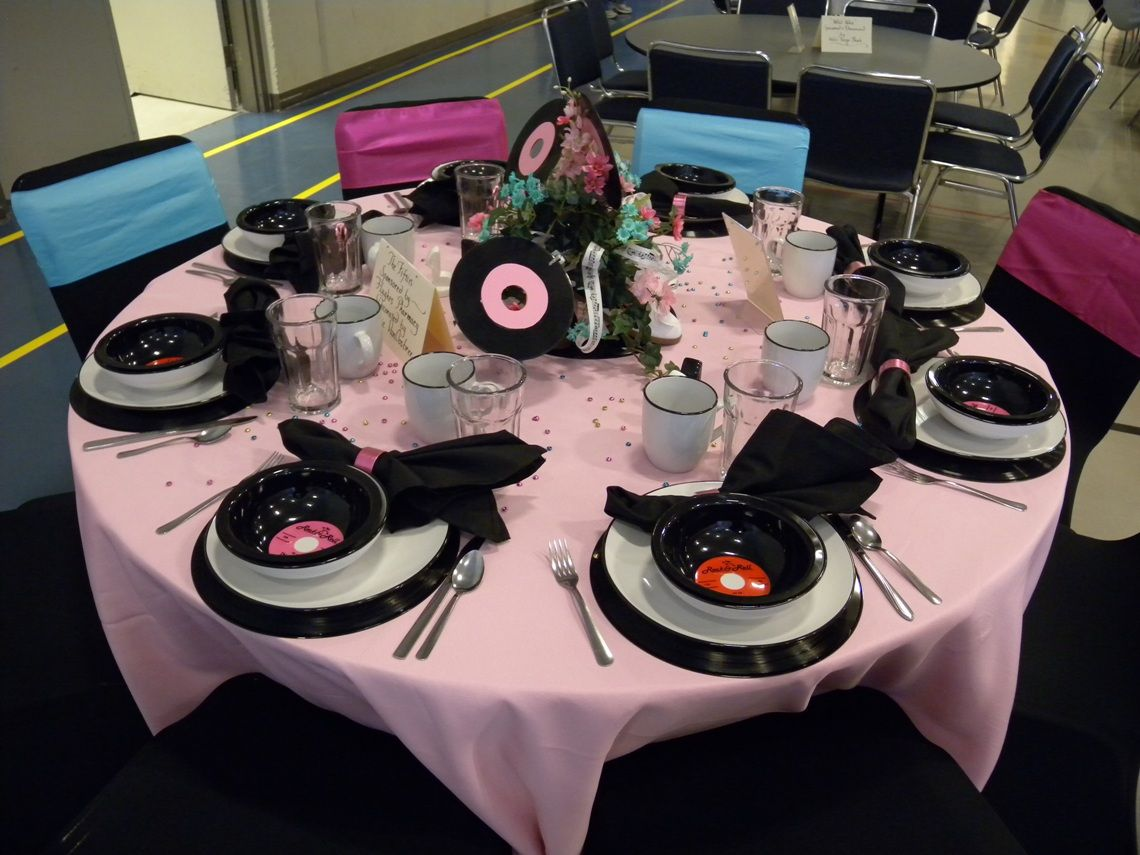 Decoration Ideas Grease Themed Party Part - 16: Adrift On The Lake: 30 Decorated Theme Tables! (Part I)