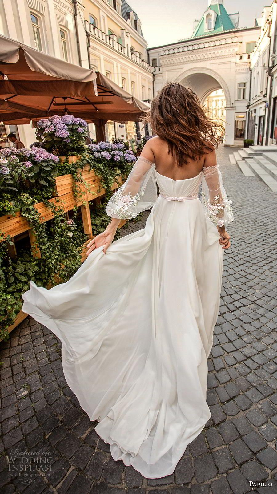 "Papilio Light 2019 Wedding Dresses — ""Cosmopolitan City"" Bridal Collection"