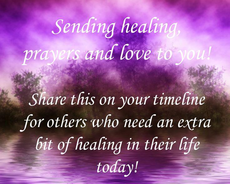 Sending Prayers To Everyone The Purple Represents The