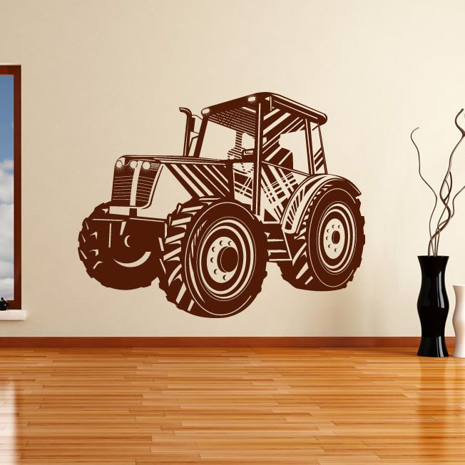 Tractor Transport Wall Art Sticker Wall Decal Transfers Sticker Wall Art Wall Stickers Wall Decals