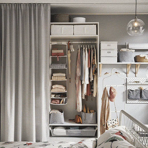 The Role Of Open Storage Is To Keep The Items You Love On Display