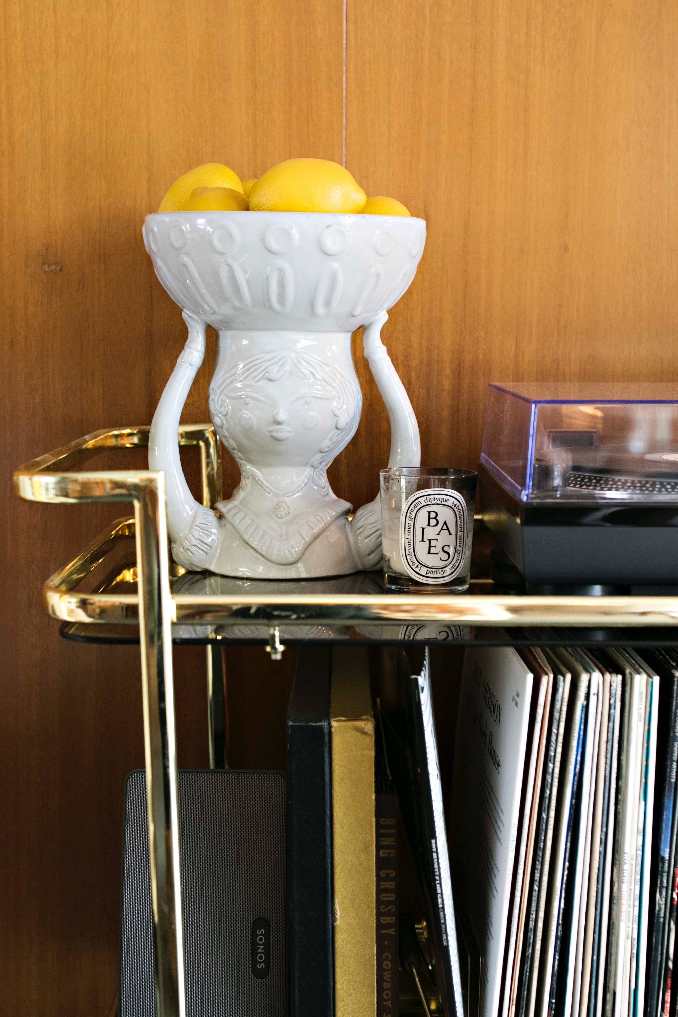 The Couple Love Jonathan Adlers Decorative Objects Which Can Be Found Throughout Their Home