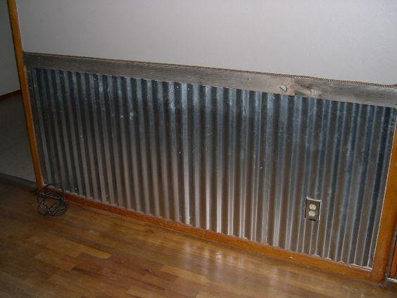Pin By Linda Diprose On Deco In 2020 Corrugated Metal Wall Aluminum Wall Panel Barn Tin