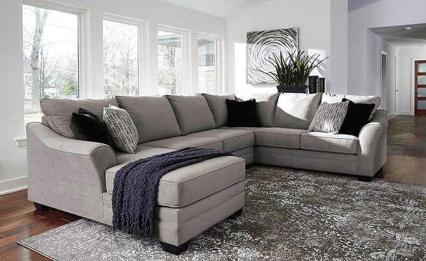 Palempor 3 Piece Raf Sectional Ashley Furniture