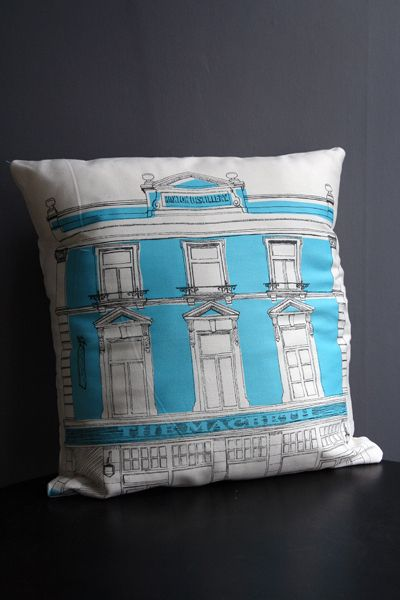 pillow painting