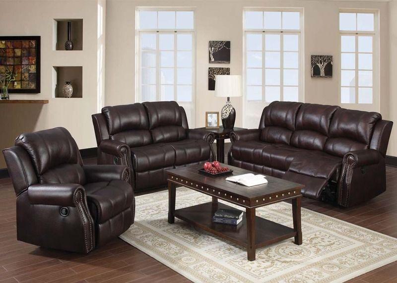 Sofa Slipcovers Acme Brown Microfiber Reclining Sofa Couch Loveseat Padded Nailhead