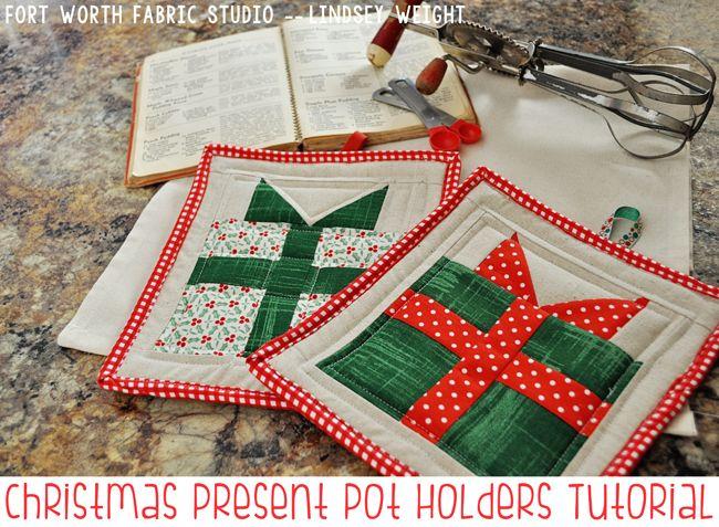 Fort Worth Tecido Estúdio: Quilts Natal e projetos de costura