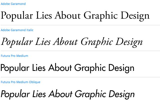 Garamond Futura | Font Combinations | Font combinations, Graphic