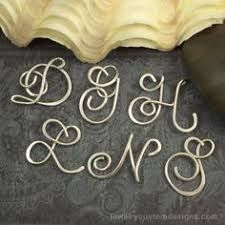 Image result for wire alphabet letters | Wire writing | Pinterest