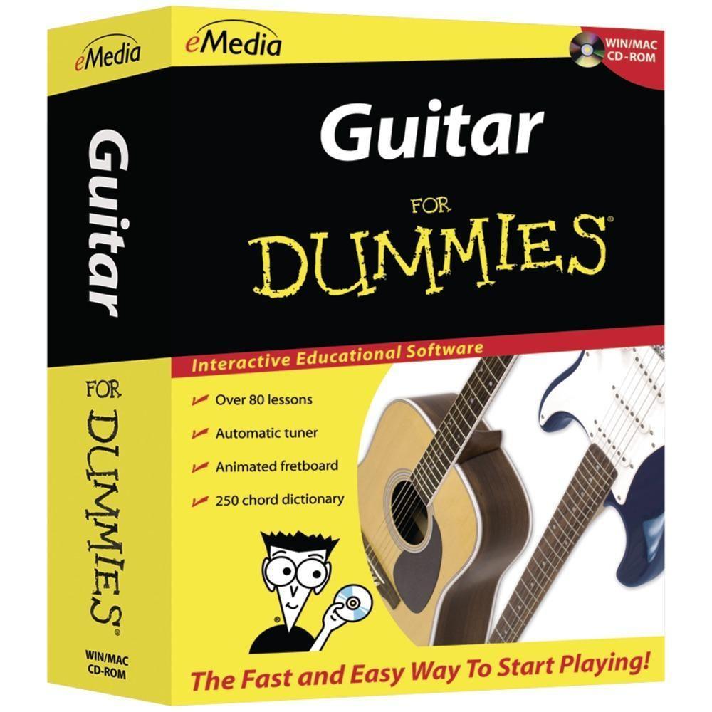 FOR DUMMIES(R) FD12091 Guitar for Dummies Guitar lessons