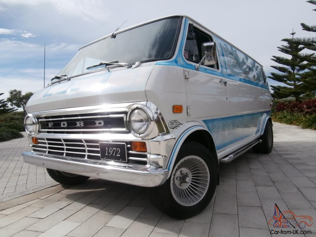 Cool vans of the 70s 1972 ford econoline custom van for sale