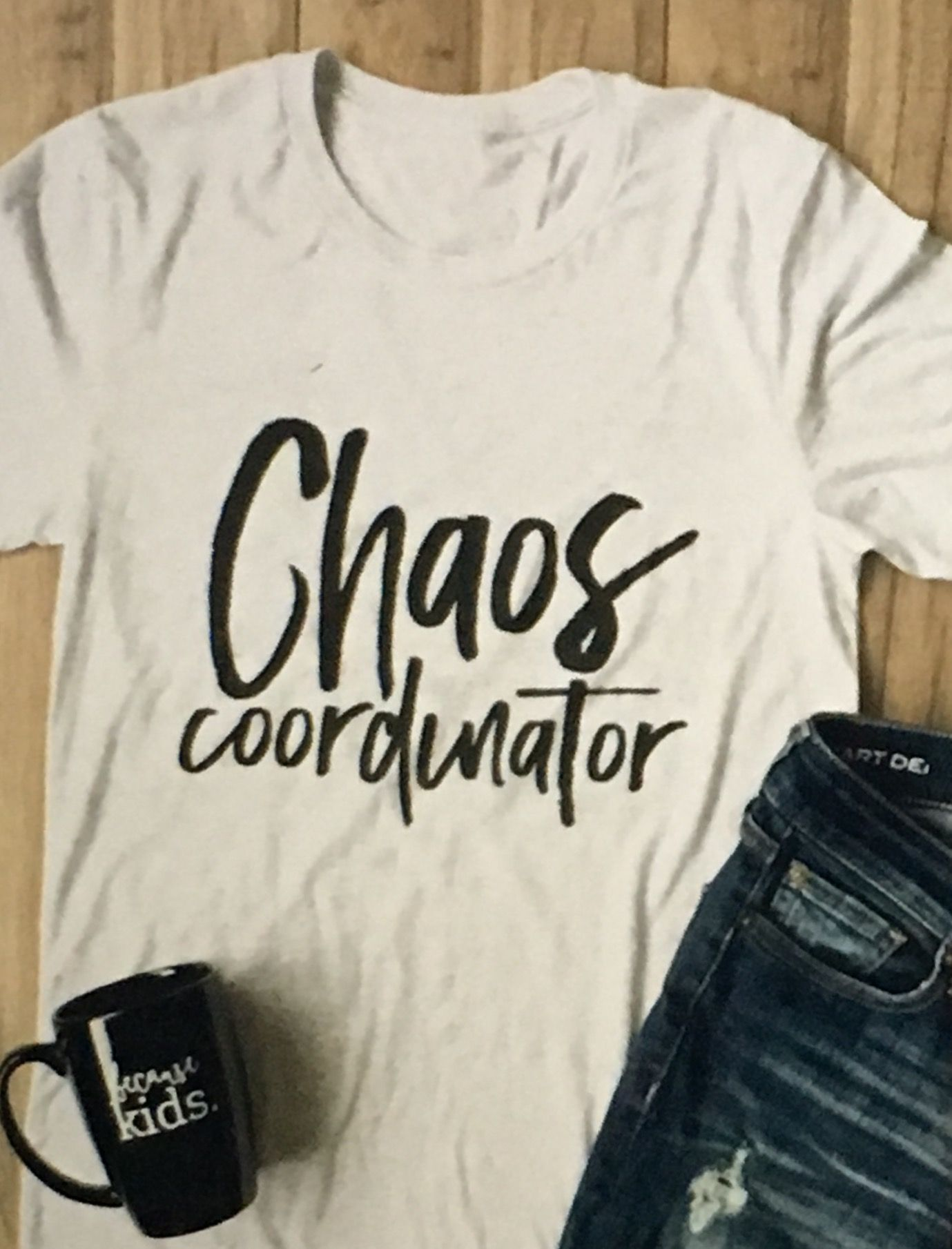 Chaos Coordinator (Size Large) Shirt designs, Cool t
