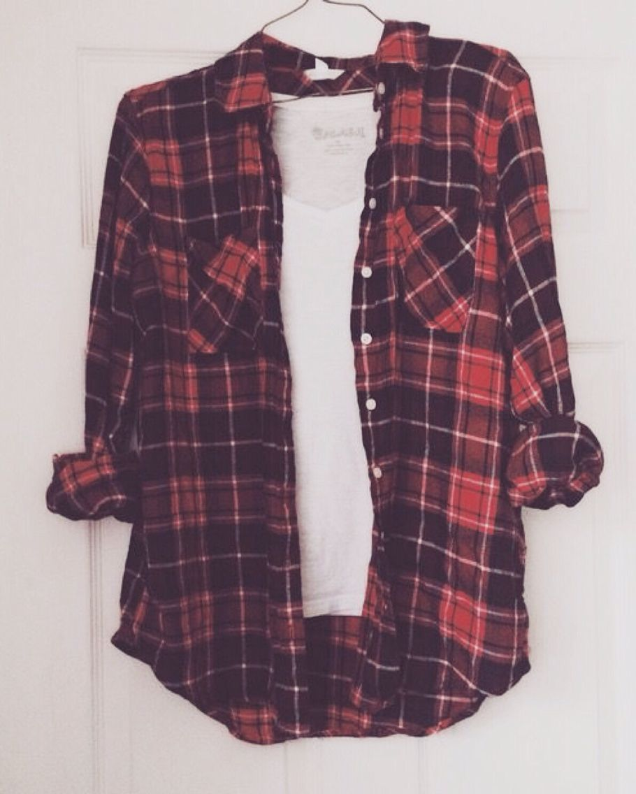 Flannel over shirt  Pin by Khadijah Fyffe on Things to wear   Pinterest  Flannels