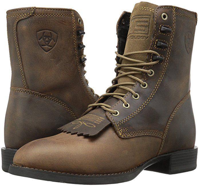 9c413f13b6d Amazon.com | Ariat Men's Heritage Lacer Western Cowboy Boot | Shoes ...