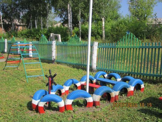 Оформление детских площадок в детском саду фото