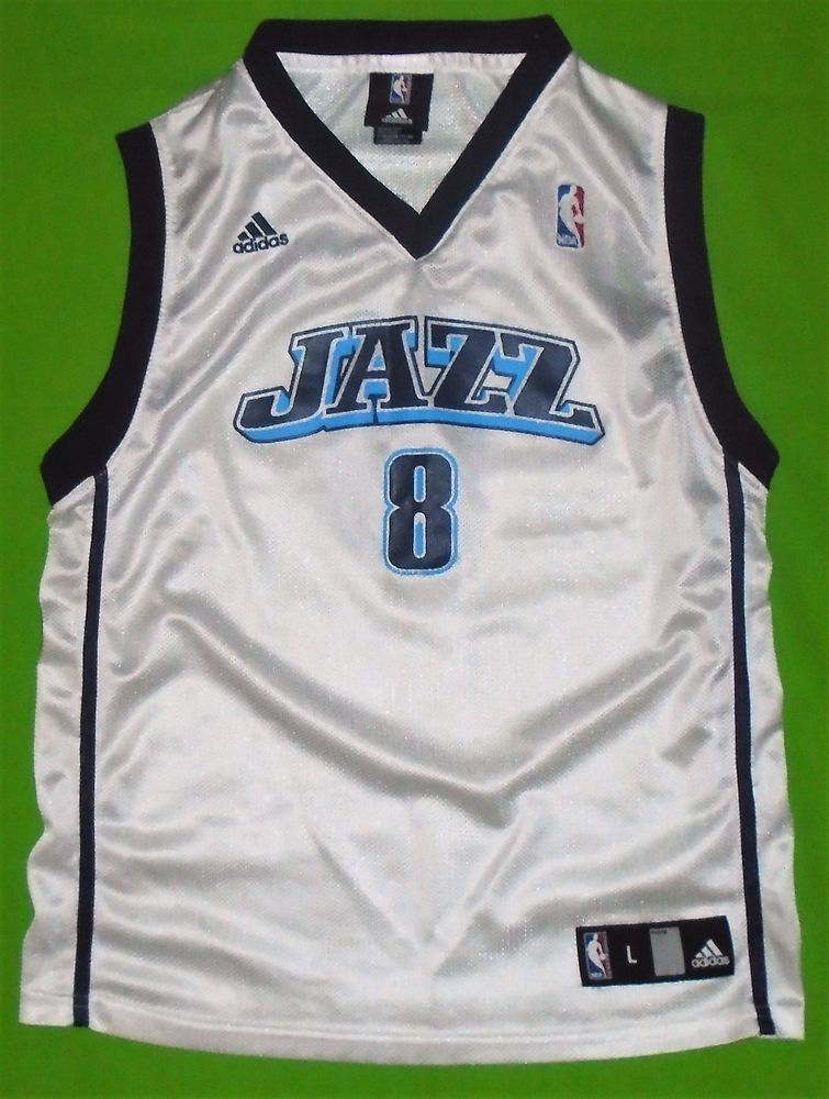new york 02cb2 cca28 NBA Utah JAZZ #8 Deron Williams Adidas Basketball Jersey ...