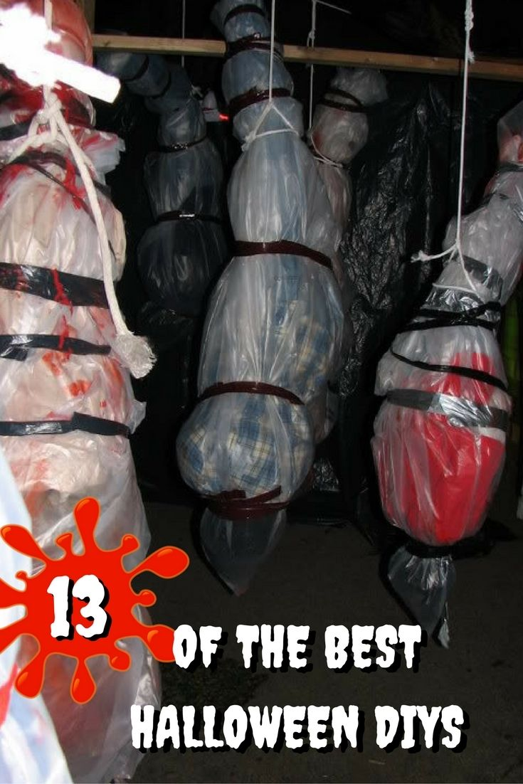 The 13 Best DIY Halloween Decorations EVER