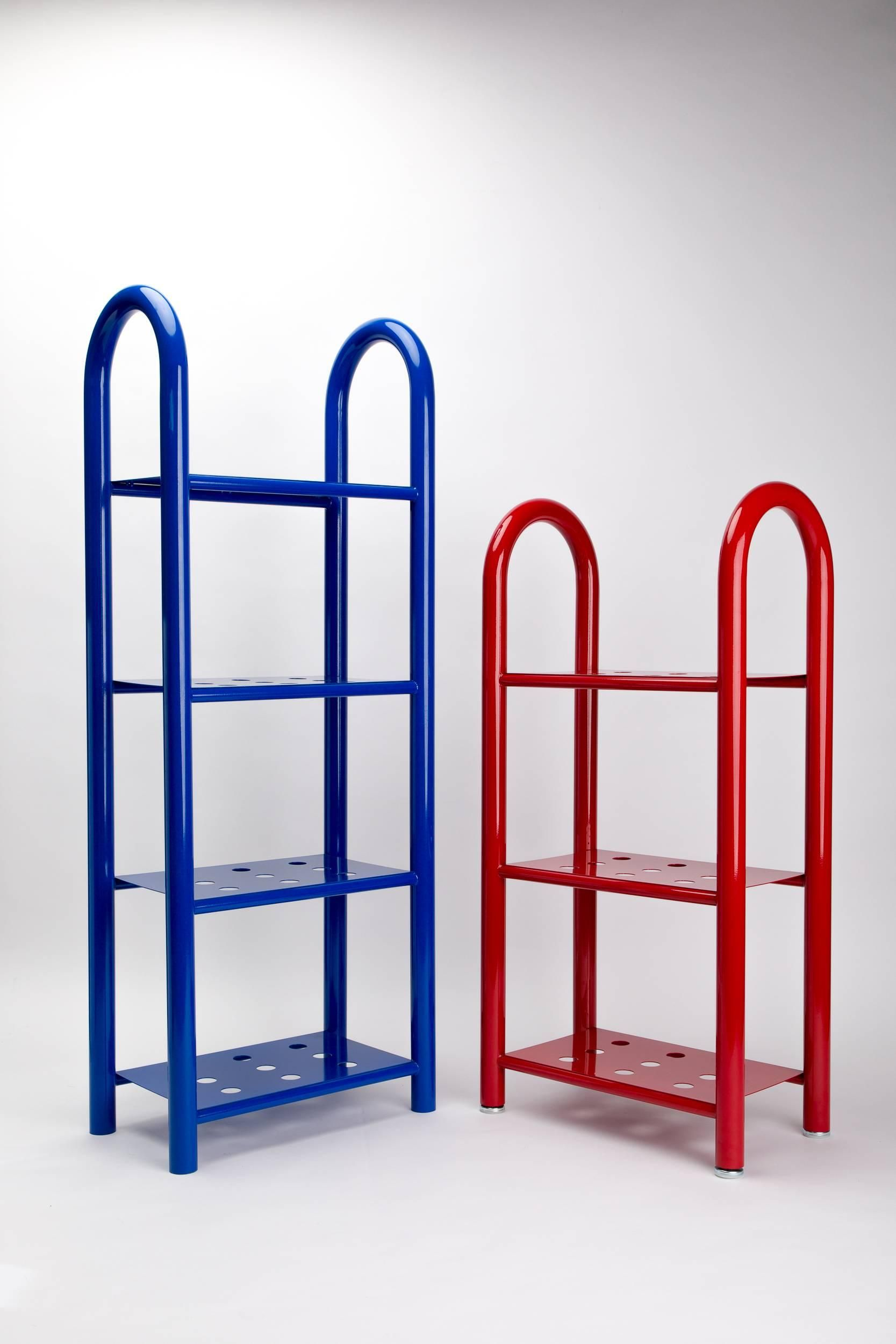 Tubular Bookshelf By Another Human, Large, Modern Sculptural Bookshelf For