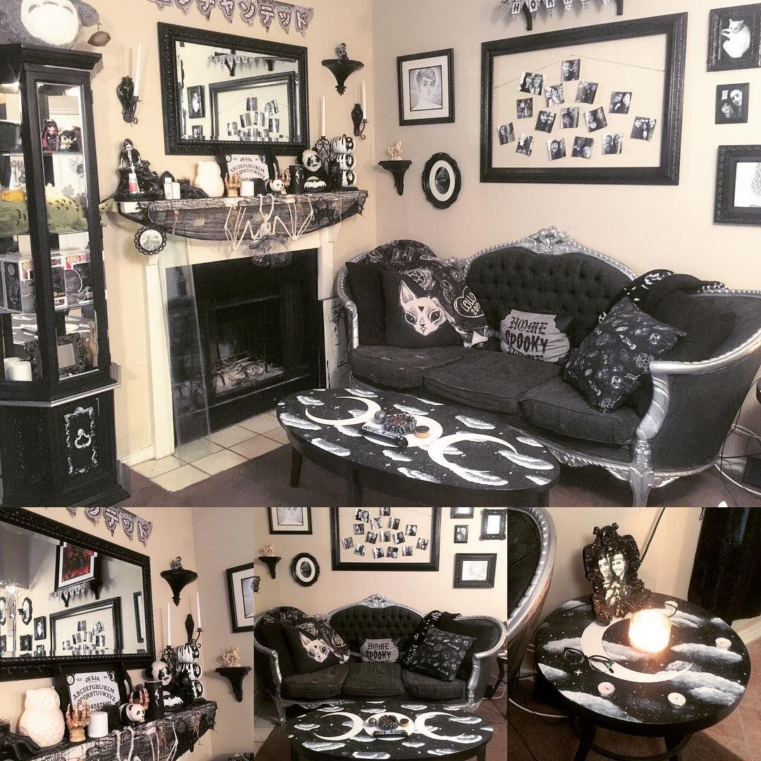 Goth Home Decor Living Room