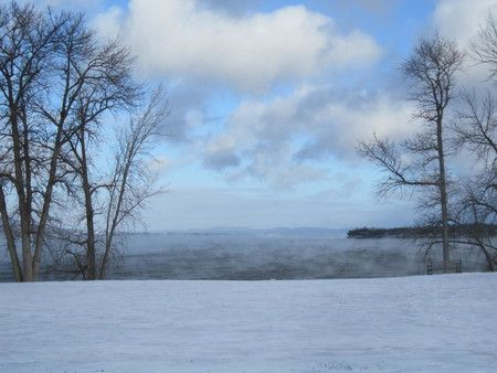 Steamy Lake Champlain - Lake Champlain Region, Adirondacks