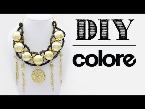 DIY Collar Vinil Sintético y Plastimetal - Colore Accesorios - YouTube